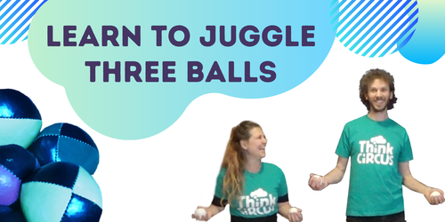 Learn to juggle - image promoting online course